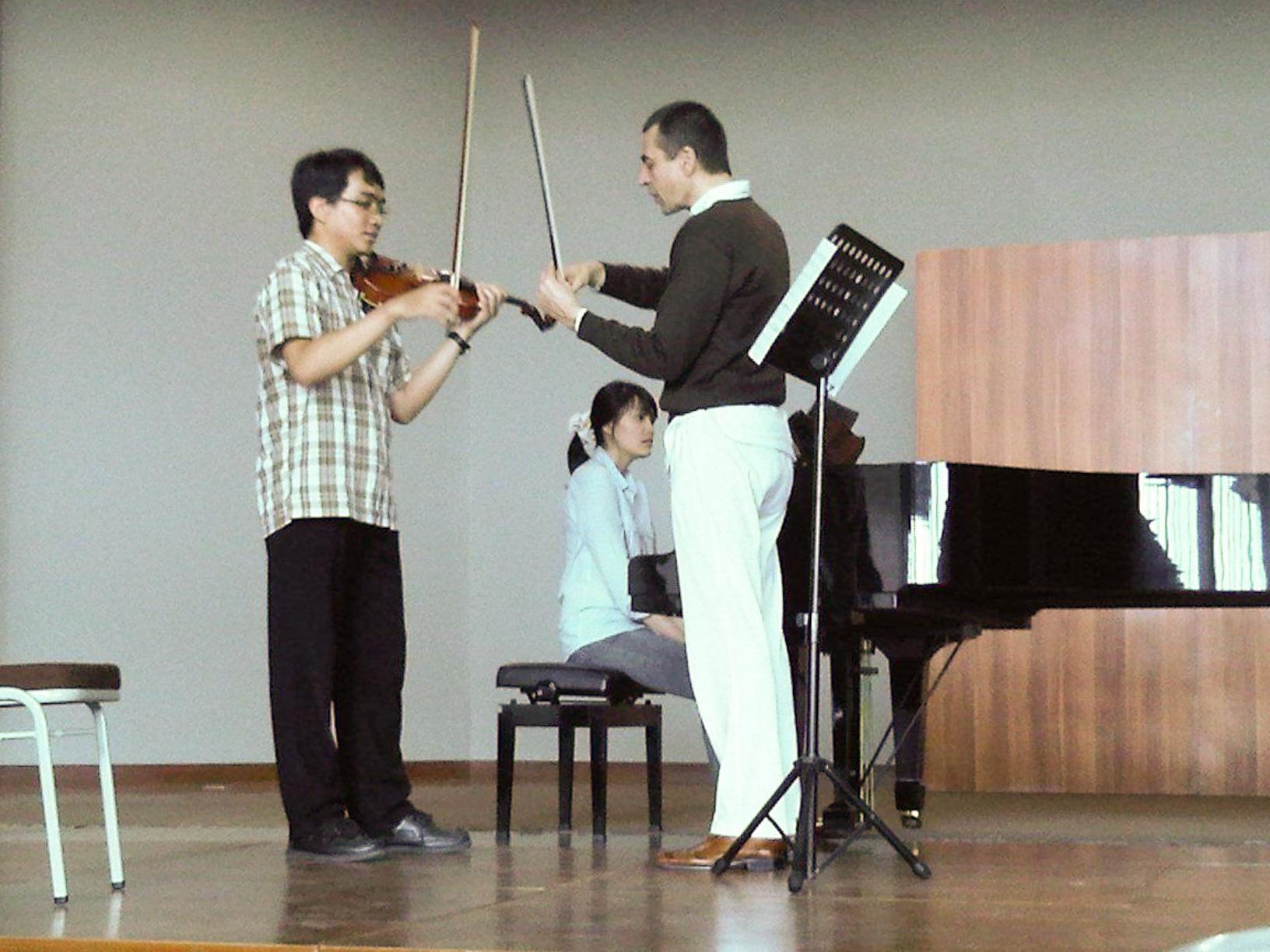 Masterclass in Indonesien, Gloriamus Music School in Jakarta, 2012